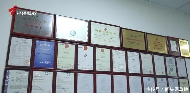Shenzhen Imagine Vision Technology Company Qualification Certificate Display